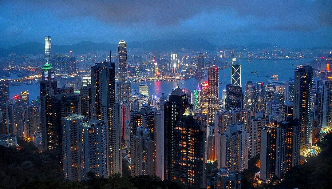HONG KONG - Magazine cover